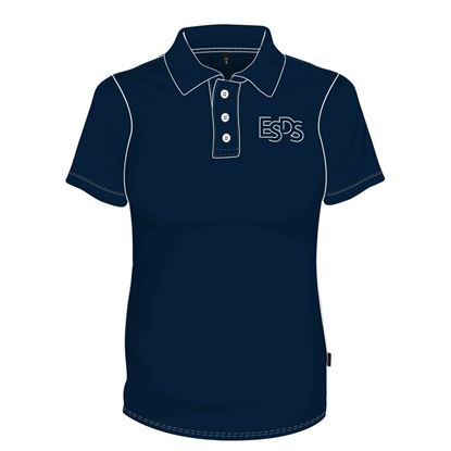 Picture of Polo Shirt (100% polyester) with Buttons (Navy)
